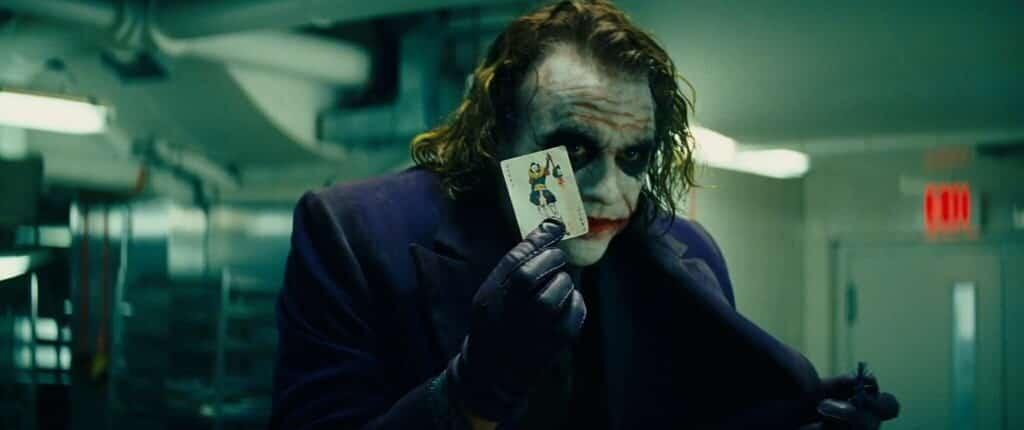 Carte de visite Joker