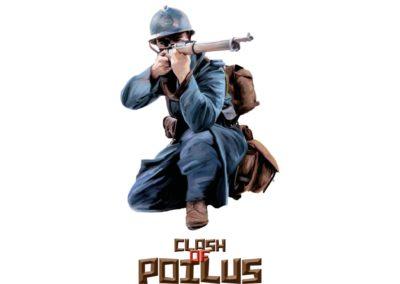 Clash of Poilus : un jeu sur la Première Guerre Mondiale