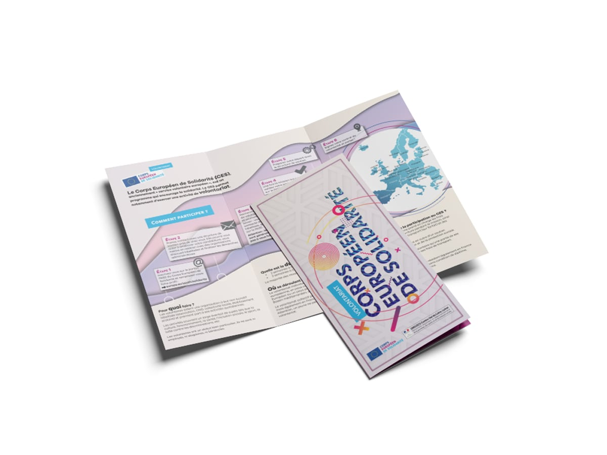 Brochure Corps Européen Solidarité