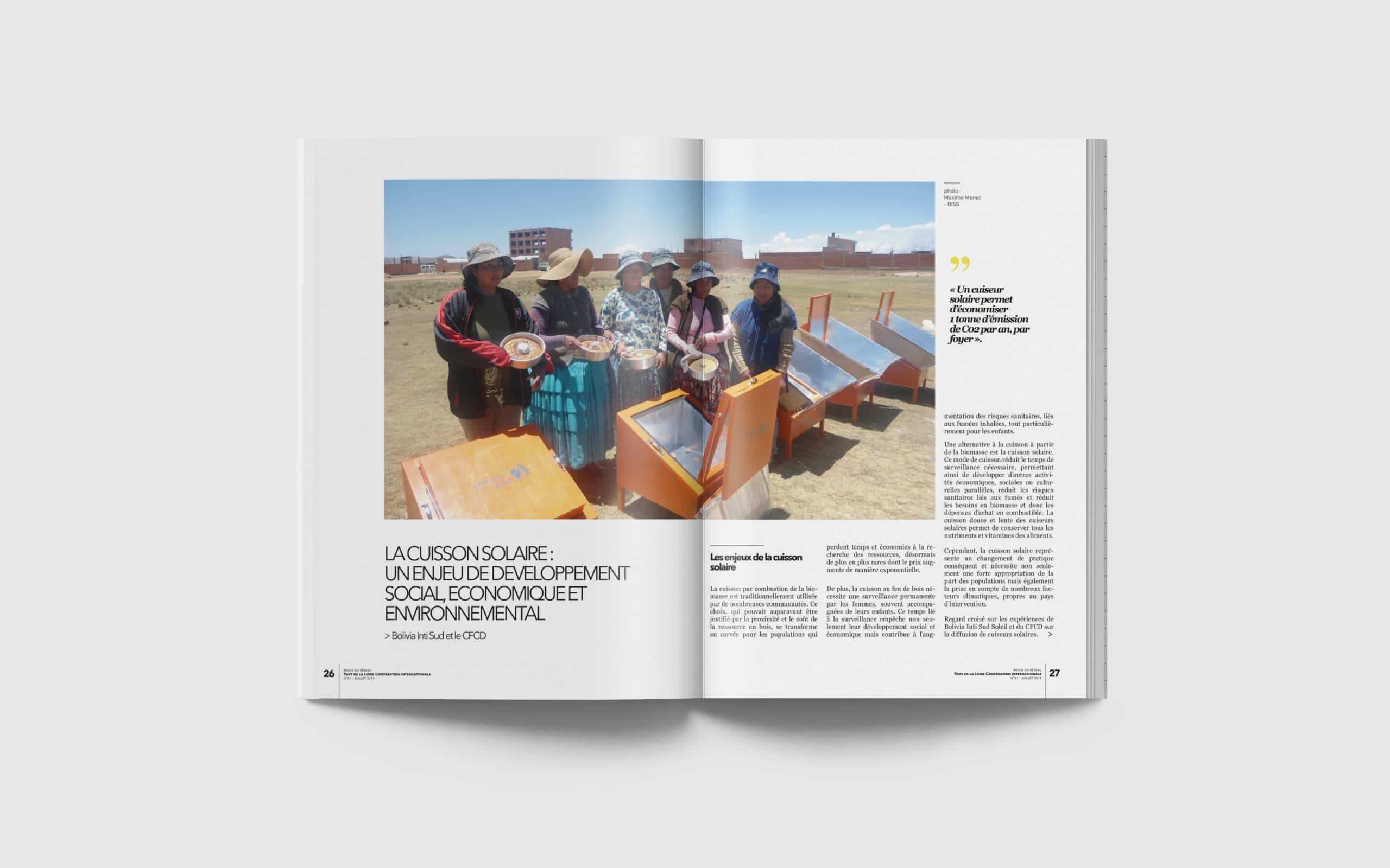 Magazine solidarité internationale