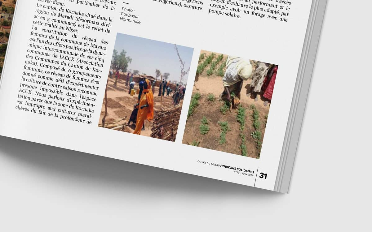 Coin Magazine solidarité internationale afrique