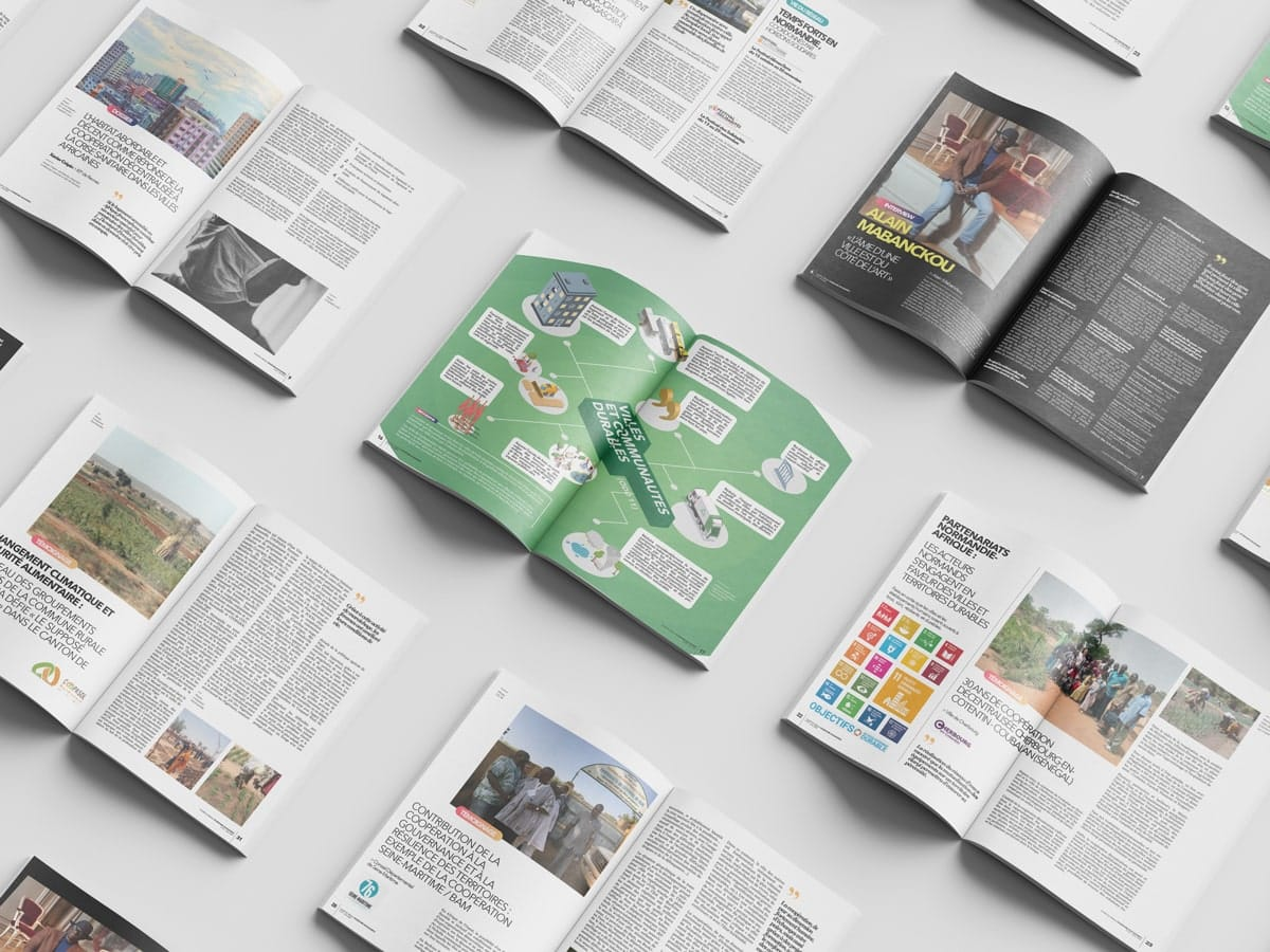 pages extrait magazine territoires afrique