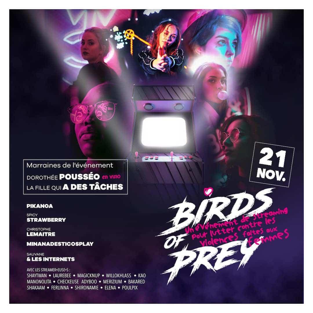 Visuel Birds Of Prey streaming