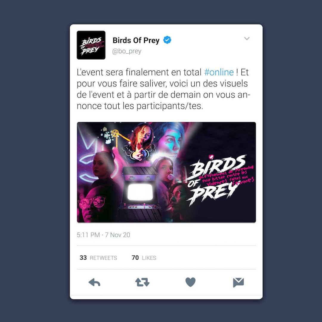 Twitter Birds Of Prey streaming
