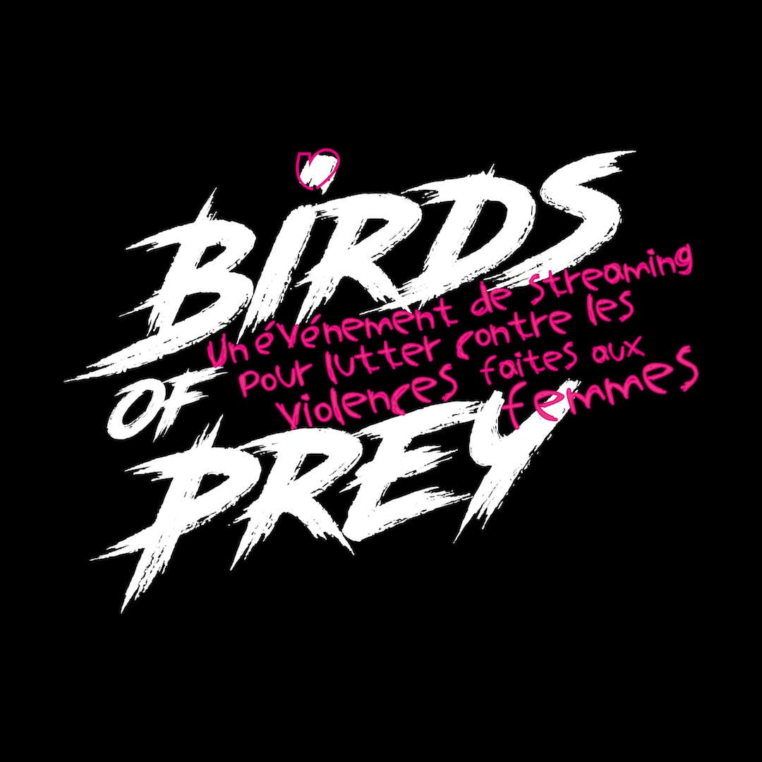 Logo Birds Of Prey Streaming