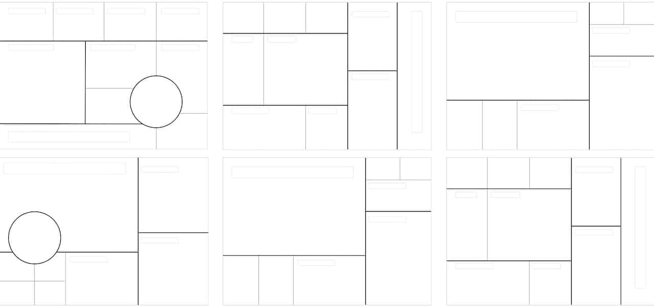 Moodboard Grille Template