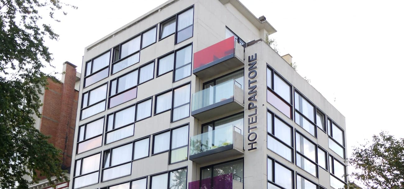Hotel Pantone à Bruxelles