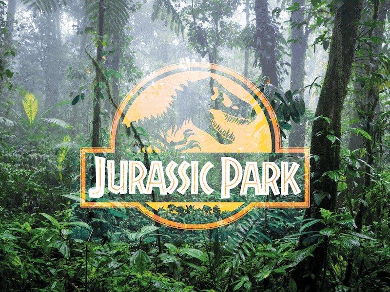 Logo story : Le logo de Jurassic Park