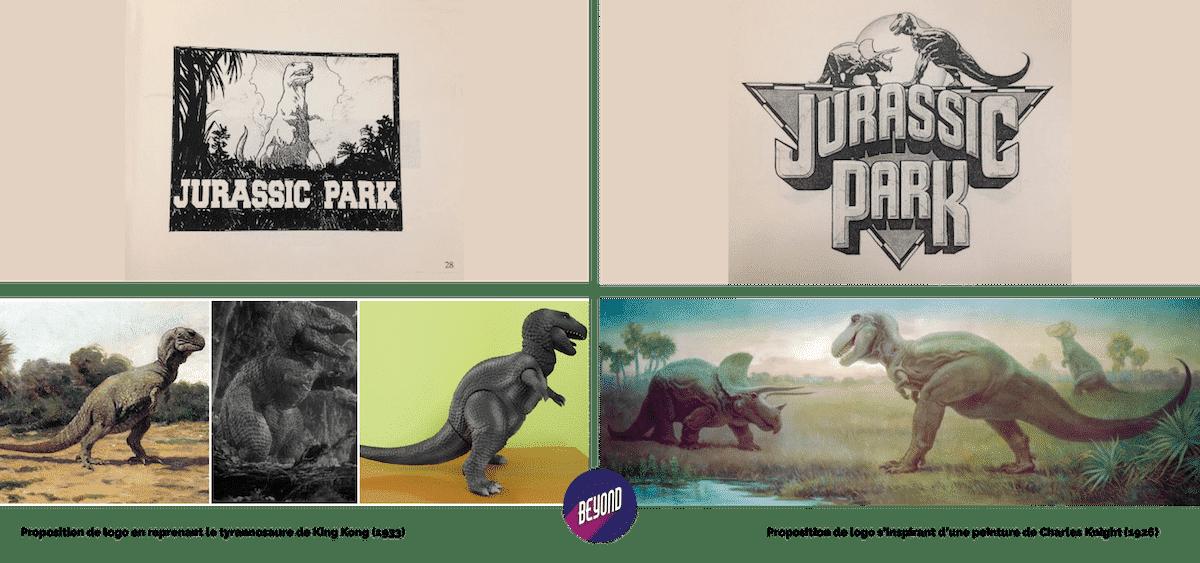 Recherche de logo pour Jurassic Park