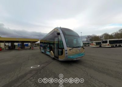 Visite du bus électrique d'Orléans Métropole en réalité virtuelle