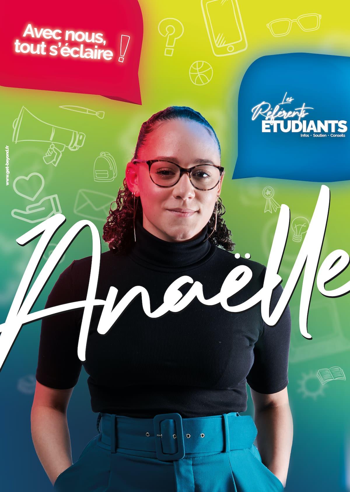 Affiche Anaëlle - Référents Etudiants - Tours