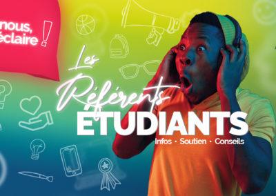 Les référents étudiants : Une initiative pour soutenir les jeunes