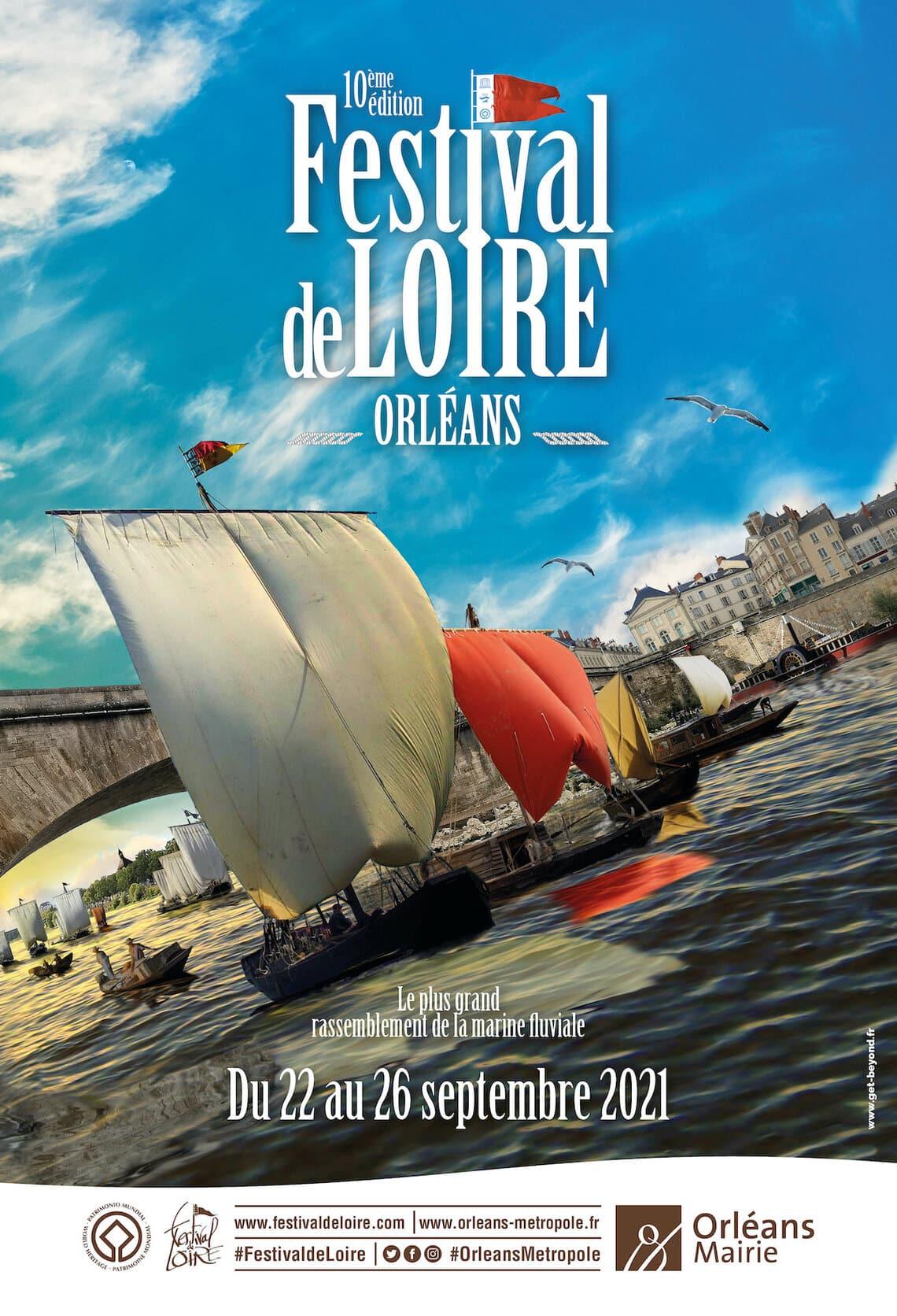 Affiche Festival de Loire 2021